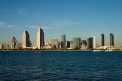 San Diego Skyline. Skyline of San Diego from Coronado Island royalty free stock image
