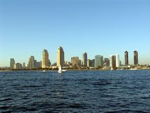 San Diego Skyline. San Diego, California Skyline from Coronado Island Stock Image