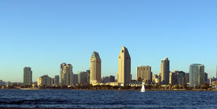 San Diego Skyline Royalty Free Stock Images