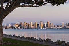 San Diego Skyline Fotografía de archivo
