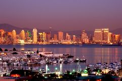 San Diego Skyline stock photos