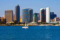 Free San Diego Skyline Royalty Free Stock Images - 5235099