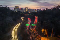 San Diego Skyline Lizenzfreie Stockfotos