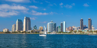 San Diego skyline CA Stock Photo