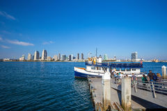 San Diego skyline CA Royalty Free Stock Photos