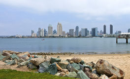 San Diego skyline California. Stock Images