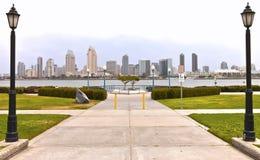 San Diego skyline California. Royalty Free Stock Photography