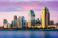 San Diego Skyline stock photos