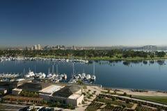 San Diego Skyline from Coronado Stock Photo