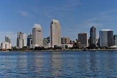 San Diego Skyline. Skyline of downtown San Diego CA royalty free stock photo