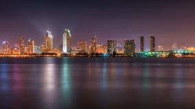 San Diego Skyline at Dusk Stock Image