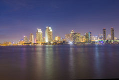 San Diego skyline Stock Images