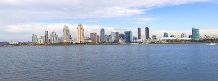 San Diego skyline panorama. Stock Photos