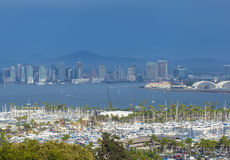 San Diego skyline Royalty Free Stock Photos