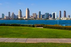 San Diego skyscrapers Royalty Free Stock Image