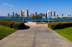 San Diego skyscrapers Royalty Free Stock Photo