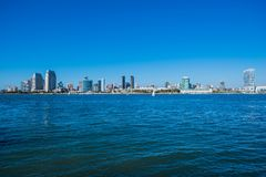 San Diego South Bay Stock Image