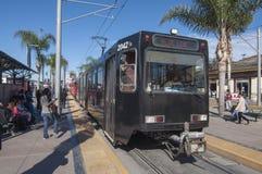 San Diego spårvagn Arkivbilder