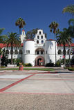 San Diego State University bell tower Royalty Free Stock Photo