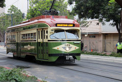 San Diego Street Car Stock Photo