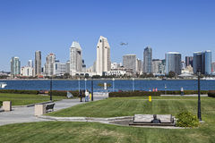 San Diego at Sunny Day Royalty Free Stock Images