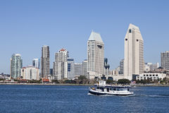 San Diego at Sunny Day Royalty Free Stock Photography