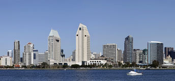 San Diego at Sunny Day Stock Images