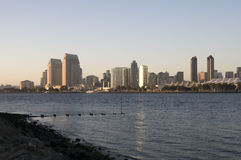 San Diego at Sunset Royalty Free Stock Images