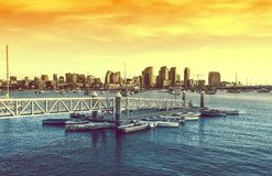 San Diego Sunset Imagen de archivo libre de regalías