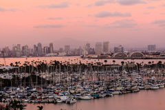 San Diego at Sunset Stock Photo
