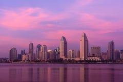 San Diego Sunset Stock Photography