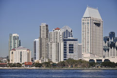 San Diego towers stock photography