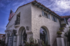 San Diego Traditional British architecture. Riverside city Traditional British architecture Stock Photography