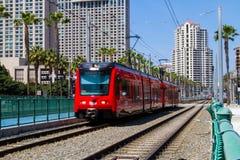 San Diego tramwaj Zdjęcie Stock