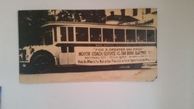 San Diego Transit Stockbild