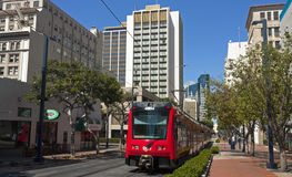 San Diego Trolley Stock Images