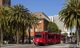 San Diego Trolley Royalty Free Stock Photography