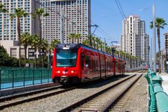 San Diego Trolley stock photo