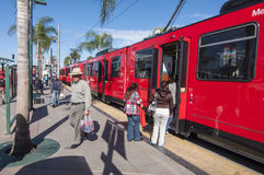 San Diego trolley Stock Photography
