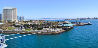 San Diego. Tuna Harbor Park in San Diego, California stock photos