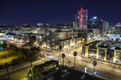 San Diego Twilight Stock Afbeeldingen