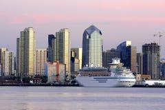 San Diego van de binnenstad, Ca Royalty-vrije Stock Afbeeldingen