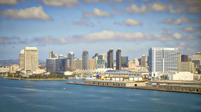 San Diego Vista, Bridge view, California Royalty Free Stock Images