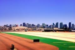 San Diego von Lindbergh Field Lizenzfreie Stockfotografie