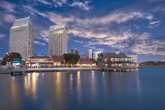 San Diego water front Royalty Free Stock Photos