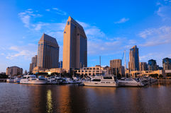San Diego waterfront Royalty Free Stock Photography