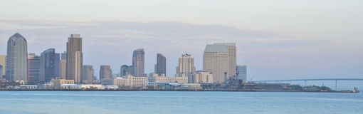 San Diego Waterfront Royalty Free Stock Image