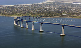 San Diego Welcomes You Stock Photos