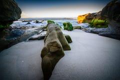 San Diego wybrzeże Zdjęcie Stock