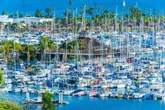 San Diego Yachts Basin Stock Photography